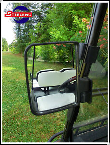 Golf Cart Mirror Folding Side View Mirrors Set Egzo Club ...