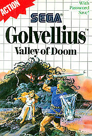 Golvellius: Valley of Doom  (Sega Master...