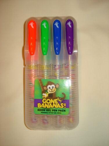 Gone Bananas! Neon Gel Pen Pack Scrapbooking Pens! in Crafts, Art Supplies, Drawing | eBay
