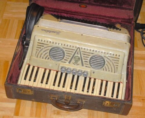 Good Ole repaired Frontallini 3/4 41/120 LMH Accordion in Musical Instruments & Gear, Accordion & Concertina | eBay