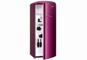 gorenje rb60299op retro k hlschrank raspberry pink ebay. Black Bedroom Furniture Sets. Home Design Ideas