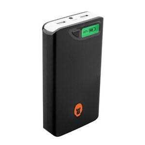 GorillaInc-Alive-Power-Bank-15-000mAh-Mobiler-Ladegeraet-USB-Smartphone-Schwarz
