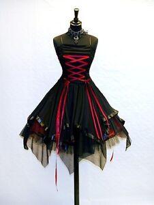 gothic kleidung accessoires ebay. Black Bedroom Furniture Sets. Home Design Ideas