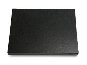 Grabtafel-Grabplatte-Grabstein-Granit-Indisch-Black-ca-40x30x3-4cm