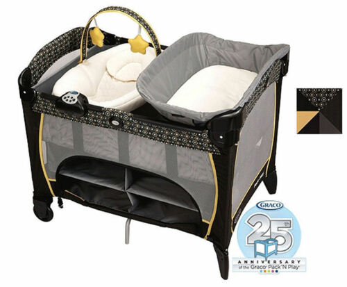 Graco Pack N Play Playard Newborn Napper DLX Bassinet FLARE ~NEW in Baby, Baby Gear, Play Pens & Play Yards | eBay