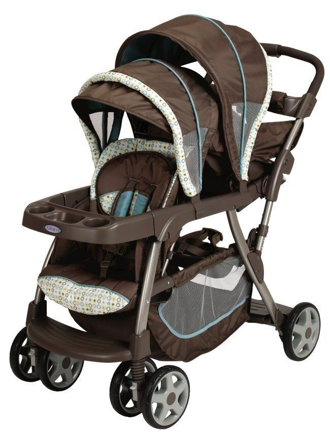 Graco Ready To Grow Stand Amp Ride Duo Stroller Double