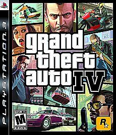 Grand Theft Auto IV  (Sony Playstation 3...