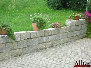 granit mauersteine granitsteine 1 st grau 10 20 40. Black Bedroom Furniture Sets. Home Design Ideas