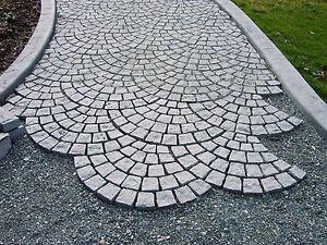 Granit-Natursteinmatte-Pflaster-Pflastersteine-Granitpflaster
