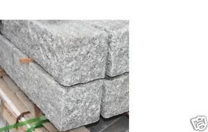 granit palisaden 15x15x300 cm pfosten granit grau ebay. Black Bedroom Furniture Sets. Home Design Ideas