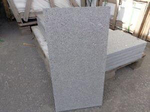 granit platte 60x40x3 anthrazit geflammt g 654 per qm 27 75 qm ebay. Black Bedroom Furniture Sets. Home Design Ideas