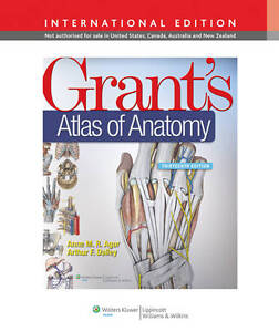 Grants-Atlas-of-Anatomy-Arthur-F-Dalley-Anne-M-R-Agur-New-Condition