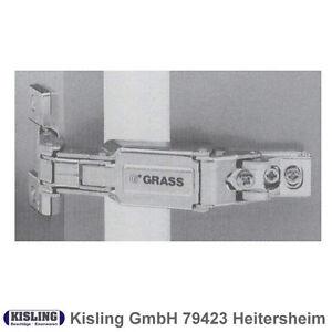 Grass Topfband Scharnier Serie 1213 165° Aufschiebetechnik Weitwinkel ...