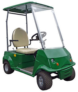 Grasshopper senior pro electric single seater golf buggy for Motorized carts for seniors