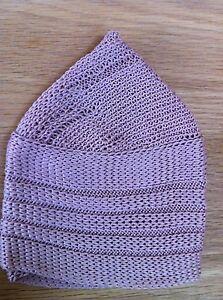 Lacy Crochet Skull Cap Pattern | Learn to Crochet