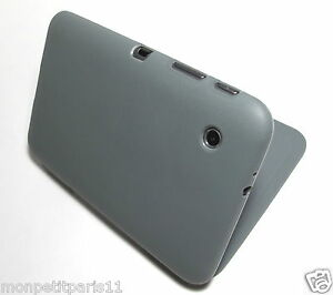 Gray TPU Flip Cover Case for Samsung Galaxy Tab 2 7 0 WiFi GT P3113