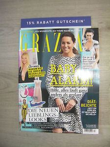 Grazia-Zeitschrift-Zeitung-Magazin-Frauenzeitschrift-Nr-17-April-2015-Neu