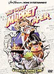 The Great Muppet Caper (DVD, 2001)