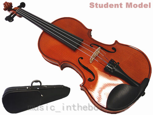 Great buy ! Student Model - 4/4 Solid Wood Violin +Bow +Rosin +Case +String set in Musical Instruments & Gear, String, Violin | eBay