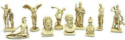 Greek Gods Goddesses - Heroes and Heroines Miniature Figurine Statue Set #G092S in Collectibles, Historical Memorabilia, Other | eBay