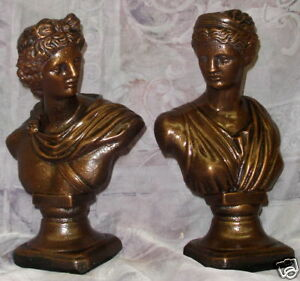 Home Decor  on Greek Statues Diana Apollo Sculpture Home Decor Art   Ebay