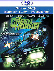 The Green Hornet (Blu-ray/DVD, 2011, 3-D...
