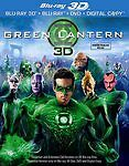 Green Lantern 3D (Blu-ray 3D, 2011, Canadian 3D) in DVDs & Movies, DVDs & Blu-ray Discs | eBay