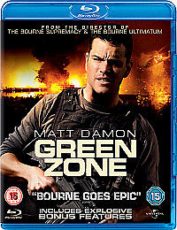 Green Zone (Blu-ray, 2010)
