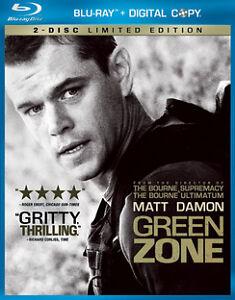 Green Zone (Blu-ray Disc, 2010, 2-Disc S...