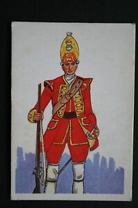 Grenadier-27th-Foot-1751-Historic-Uniform-Illustrated-Card