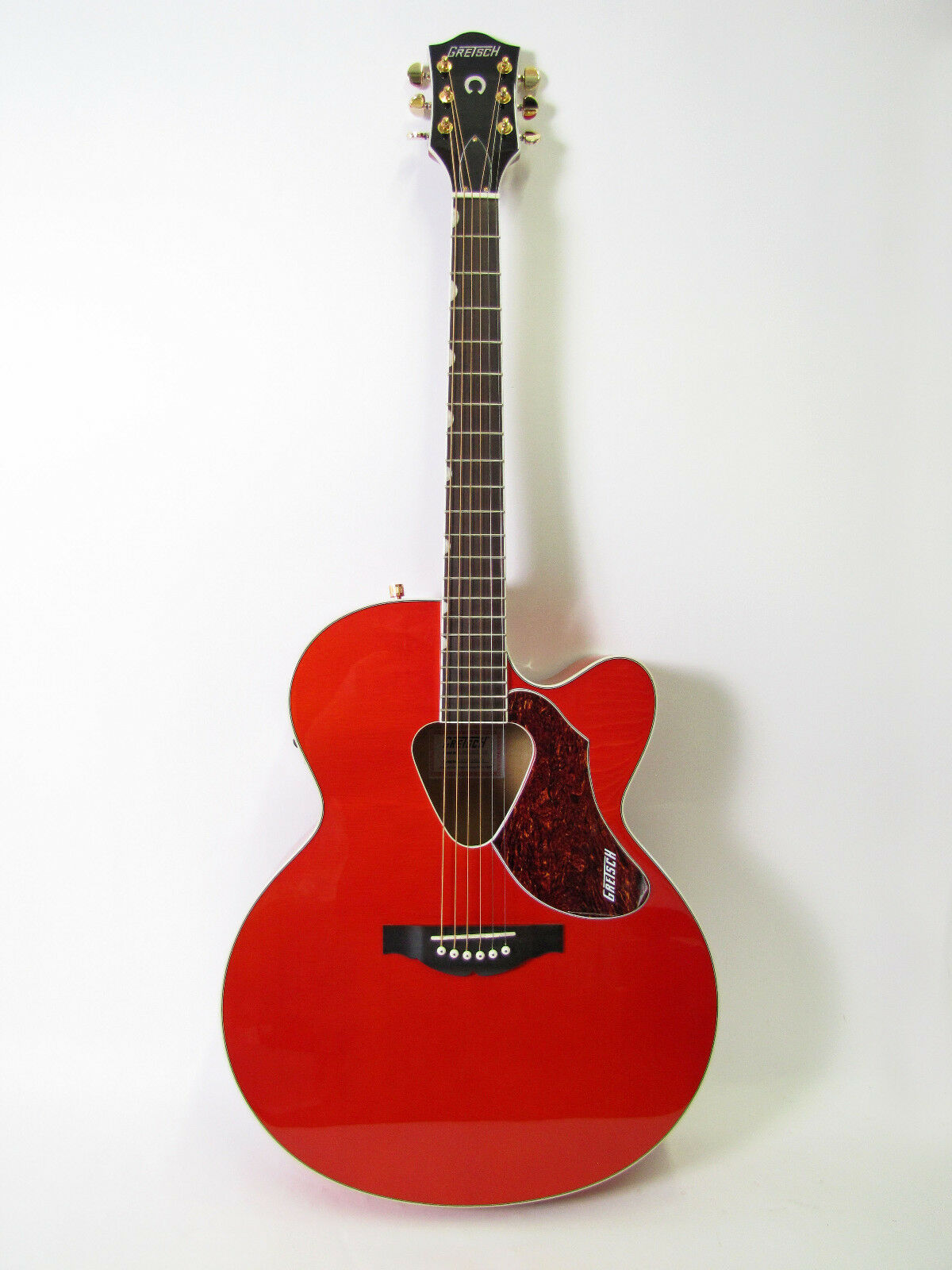 gretsch g5022ce jumbo rancher acoustic electric orange guitar fishman pickup new ebay. Black Bedroom Furniture Sets. Home Design Ideas