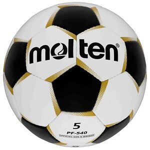 Grevinga-KIDS-Molten-Fussball-WEIss-GOLD-SCHWARZ-PF-541-Gr-4-109100-01
