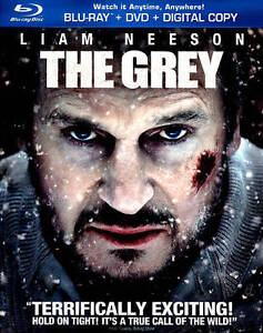 The Grey (Blu-ray/DVD, 2012, 2-Disc Set,...
