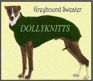Greyhound Coat knitting pattern. | eBay
