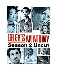Grey's Anatomy - Season 2: Uncut (DVD, 2...