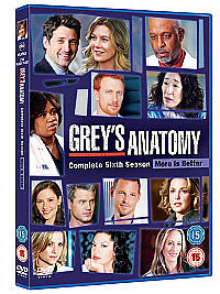 Grey's Anatomy - Series 6 - Complete (DV...