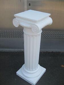 griechische s ule h he100cm farbe wei blumens ulen deko s ulen ebay. Black Bedroom Furniture Sets. Home Design Ideas