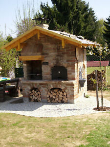 grill backofen r ucherofen pizzaofen gartengrill. Black Bedroom Furniture Sets. Home Design Ideas