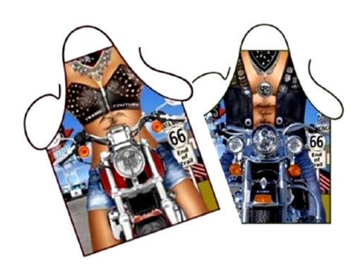 Grillschürze   Biker    Girl  oder  Man   Kochschürze  BBQ apron
