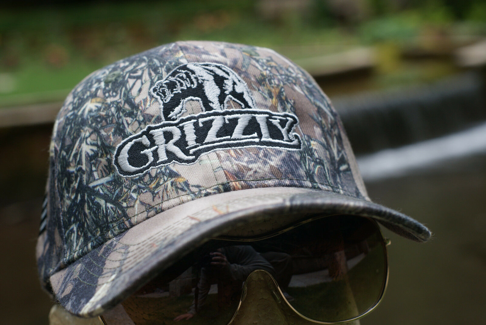 grizzly hat chewing tobacco cap camo snuff wintergreen dip