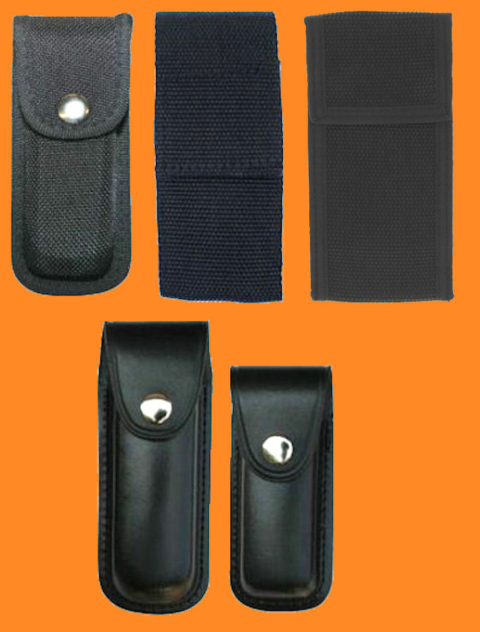 g rteltaschen messertasche g rteletui g rtelholster f r messer taschenmesser ebay. Black Bedroom Furniture Sets. Home Design Ideas