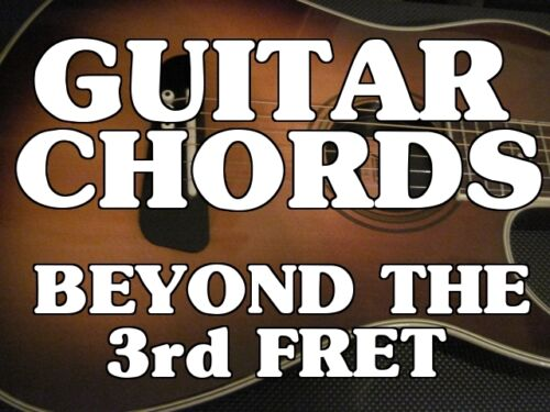 Guitar Chords Beyond The 3rd Fret DVD. Lessons. Learn To Play The ENTIRE Neck! in Musical Instruments & Gear, Instruction Books, CDs & Video, Guitar | eBay