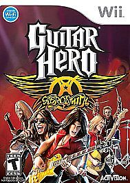 Guitar Hero: Aerosmith  (Nintendo Wii, 2...