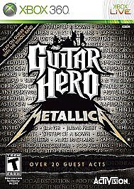 Guitar Hero: Metallica  (Xbox 360, 2009)