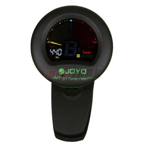 Guitar Tuner JOYO JMT-01 Clip Tuner/Metronome Bass Chromatic Tuner Black in Consumer Electronics, Gadgets & Other Electronics, Other | eBay