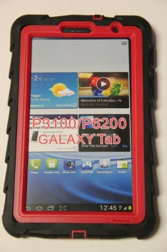 Gumdrop DROP TECH SERIES Samsung Galaxy Tab 2 - 7.0 inch Case - Black/Red in Computers/Tablets & Networking, iPad/Tablet/eBook Accessories, Cases, Covers, Keyboard Folios | eBay