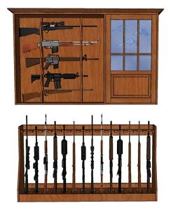 Gun Rack and Cabinet Plans | eBay