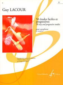 Guy-Lacour-50-Etudes-Faciles-et-Progressives-Etueden-fuer-Saxofon-Saxophon-Band-1