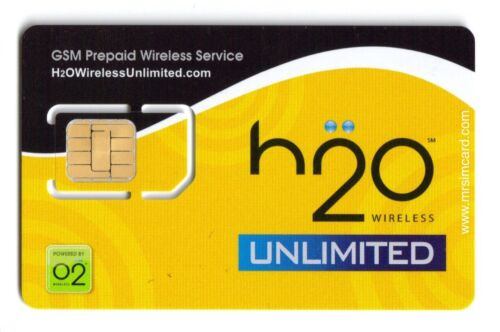 H2O Wireless Prepaid SIM card Micro/Nano-w/ International Calling-Works w/ AT&T in Cell Phones & Accessories, Phone Cards & SIM Cards, SIM Cards | eBay