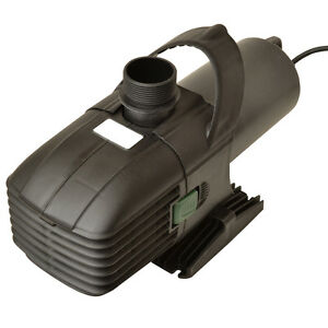 Hailea t8000 filter water pump koi fish pond ebay for Fish pond pumps and filters